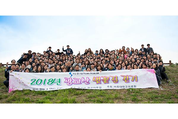 2018 광교산 벚꽃길 걷기 행사