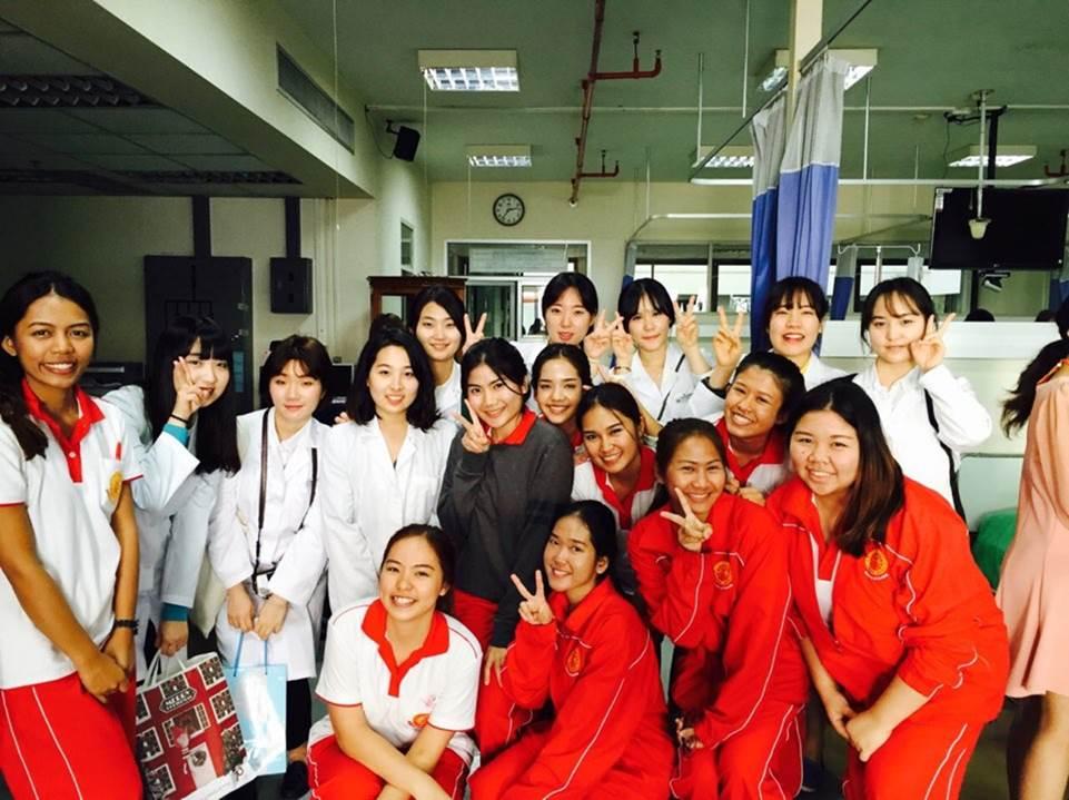 2015학년도 간호대학 해외연수 프로그램 참가 결과보고회 개최(태국)