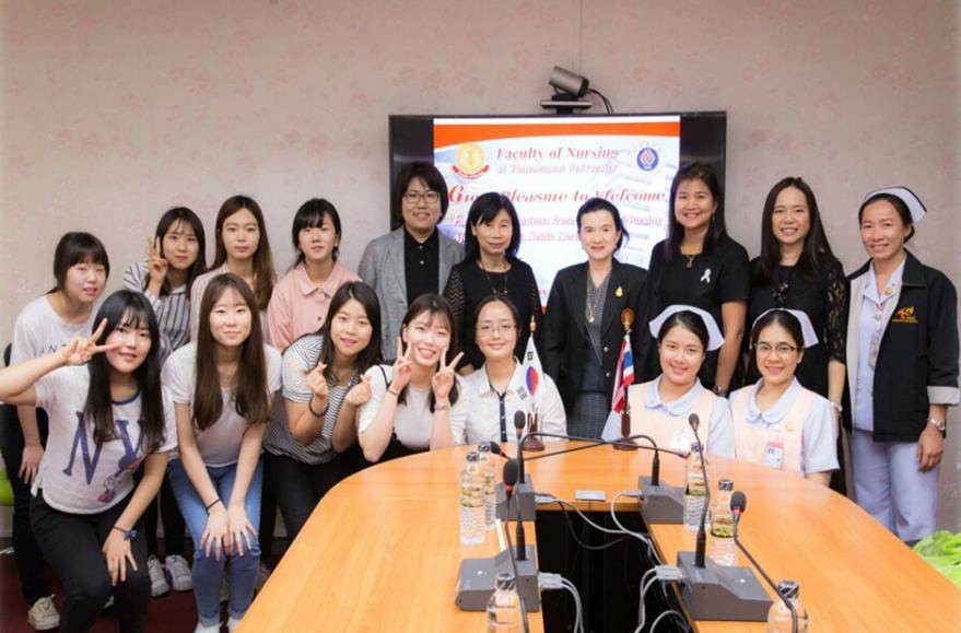 2016학년도 간호대학 해외연수 프로그램 참가 결과보고회 개최(태국)